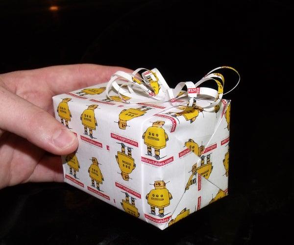 Robot Wrap Your Christmas Gifts!!