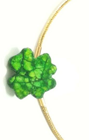 Mosaic Clover Leaf Pendant