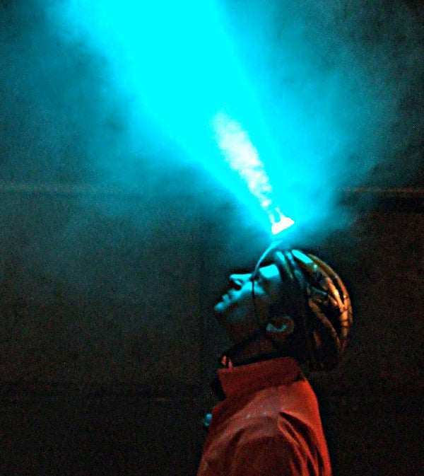 Ultimate Night Vision Headlamp - 500+ Lumens With Only 8 Watts