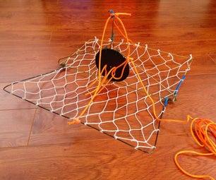 Wire Coat Hanger Casting Crab Trap