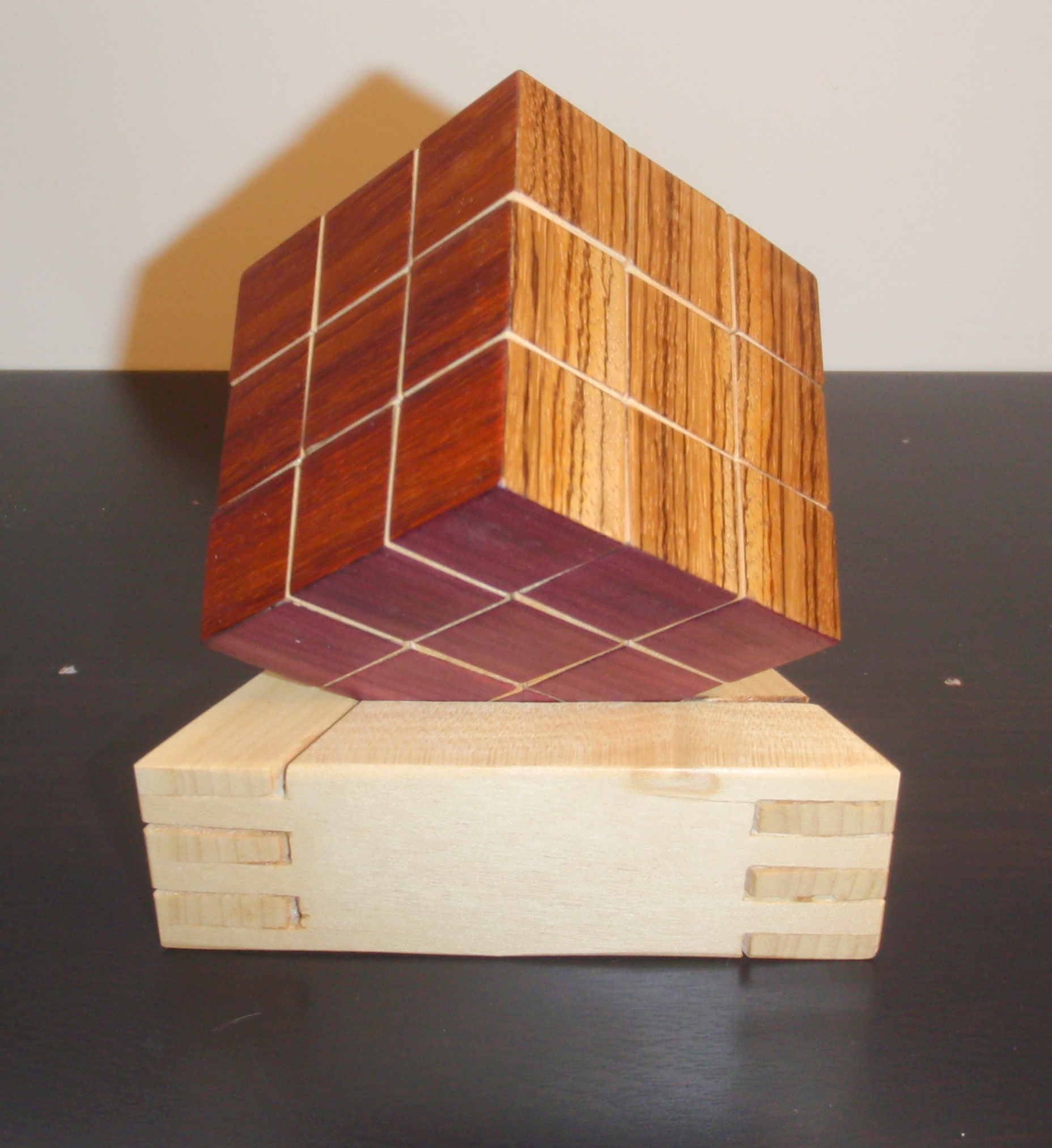Wooden/Magnetic Rubik's Cube