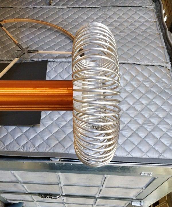 Tesla Coil Wound Aluminum Toroid