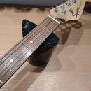 DIY neckrest luthier tool