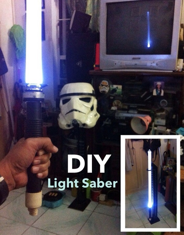 DIY Light Saber (from Recycled Stuff)