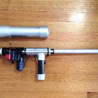 Rechargeable Rocket Launcher