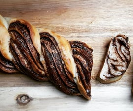 Braided Nutella Bread