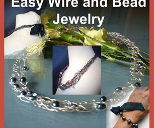 Easy Wire and Bead Jewelry