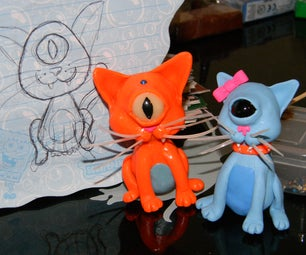 How to Make Your Very Own Cyclops Kitty!