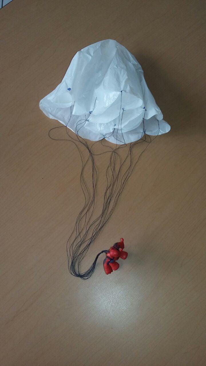 Home Made Parachute