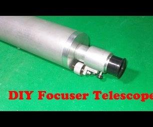 Homemade Telescope Focuser DIY Crayford Focuser Refractor Monocular