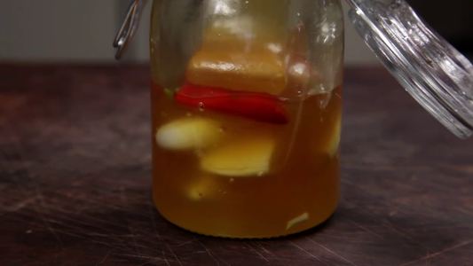 Fill the Jar With Honey.