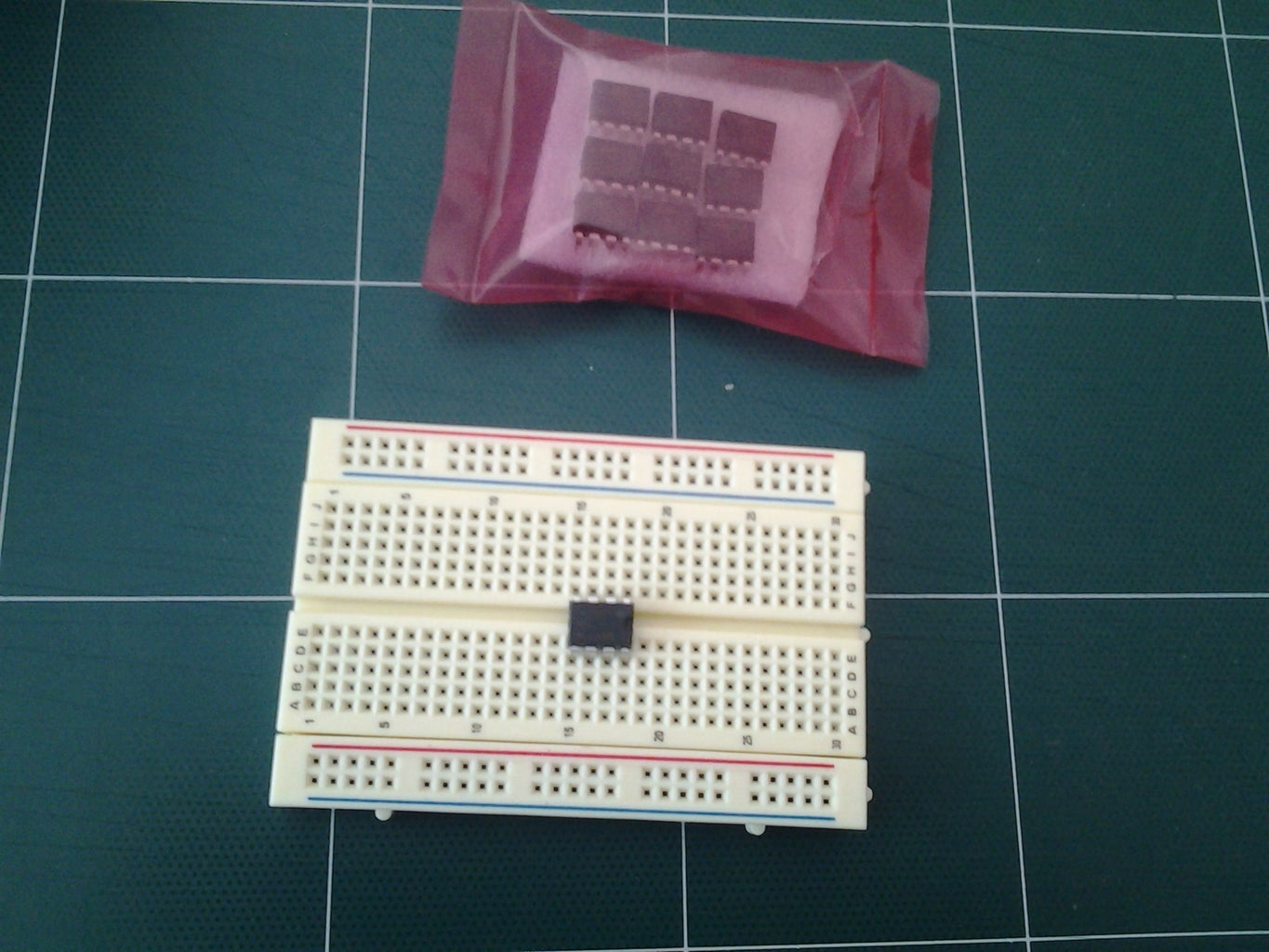 My First Circuit: a Blinking LED