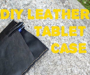How to Make a Simple Leather Tablet Case