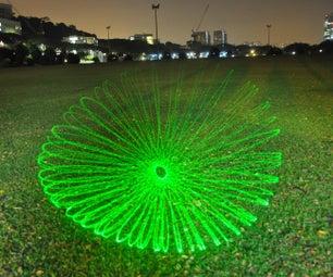 Laser Spirograph Sound Visualizer (LSSV)