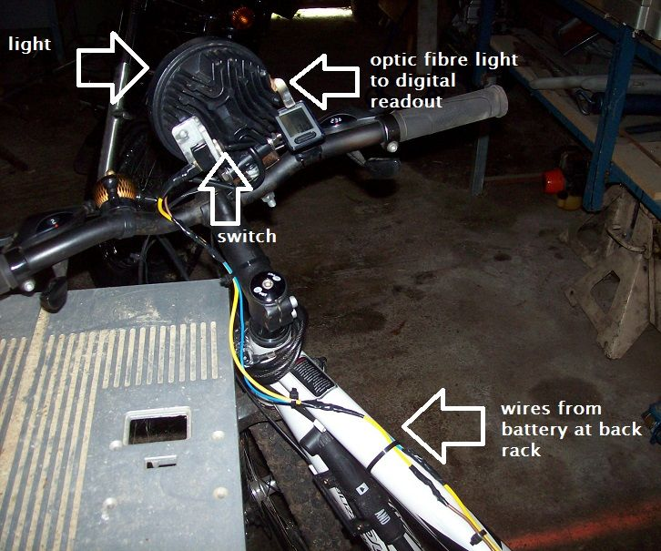 Mountain Bike MTB Fair Dinkum 12 volt LED headlight...