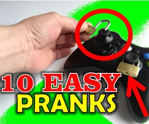 10 Easy Pranks to Make Your Friends and Family