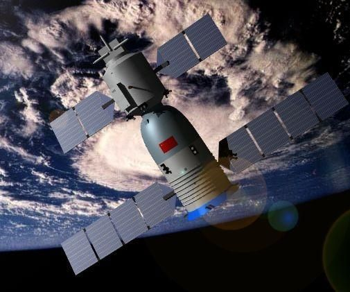 Make your own 3D printed Chinese space ship and station