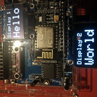 OLED I2C Display Arduino/NodeMCU Tutorial