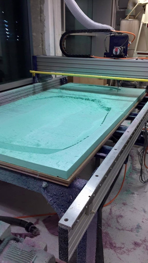 4. Machining the Foam
