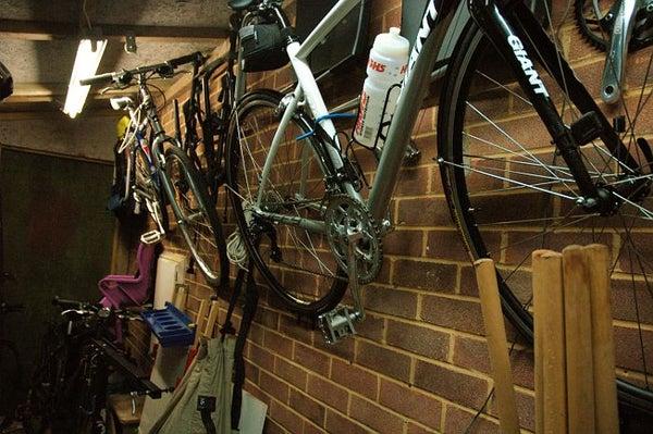 Bicycle Wall Rack (space Saving)