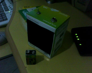 "Cardboard Box ""Mini Amp"""