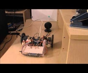 Robot Controlled by Hand Movements
