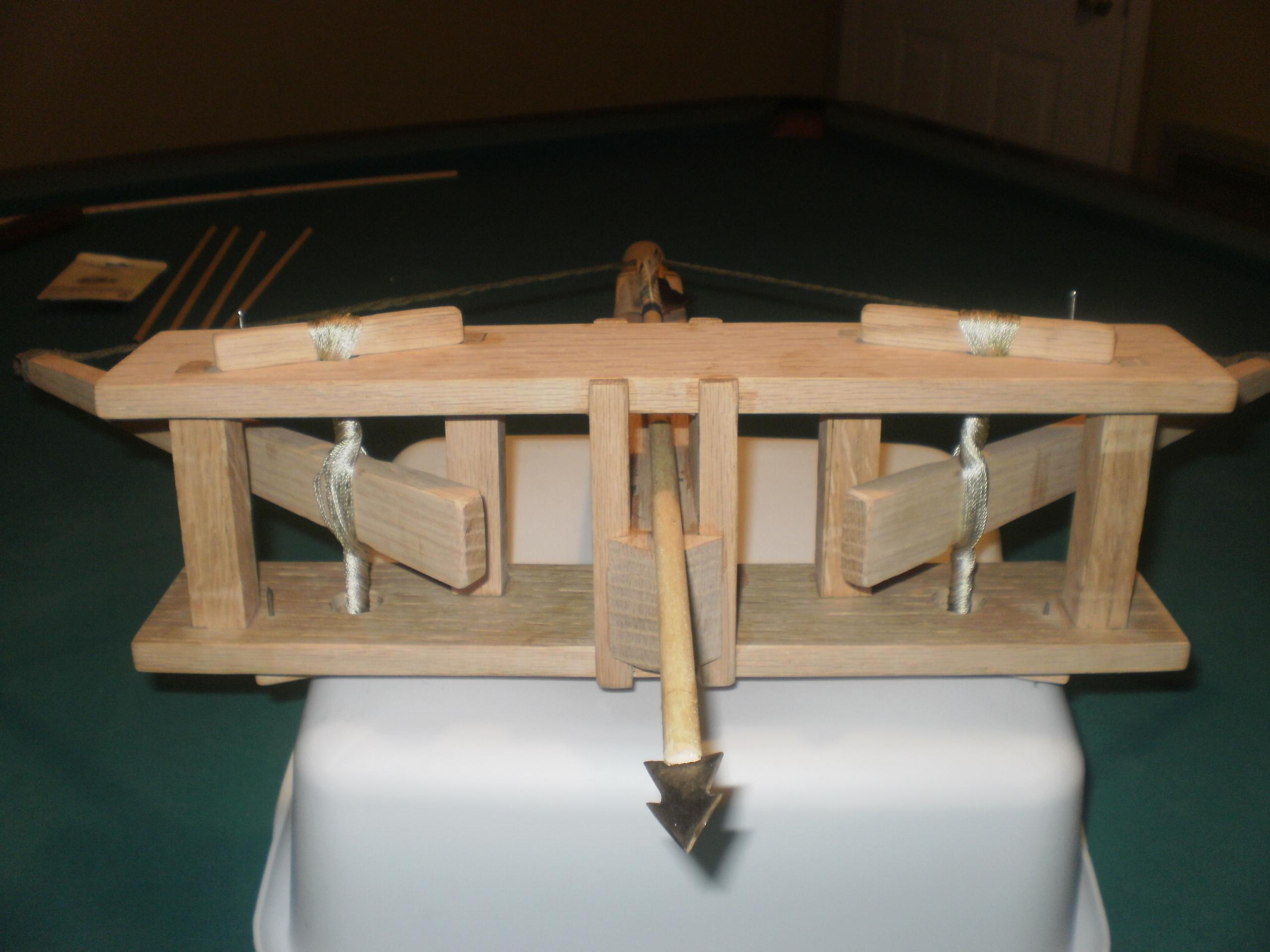 Wooden Scorpion