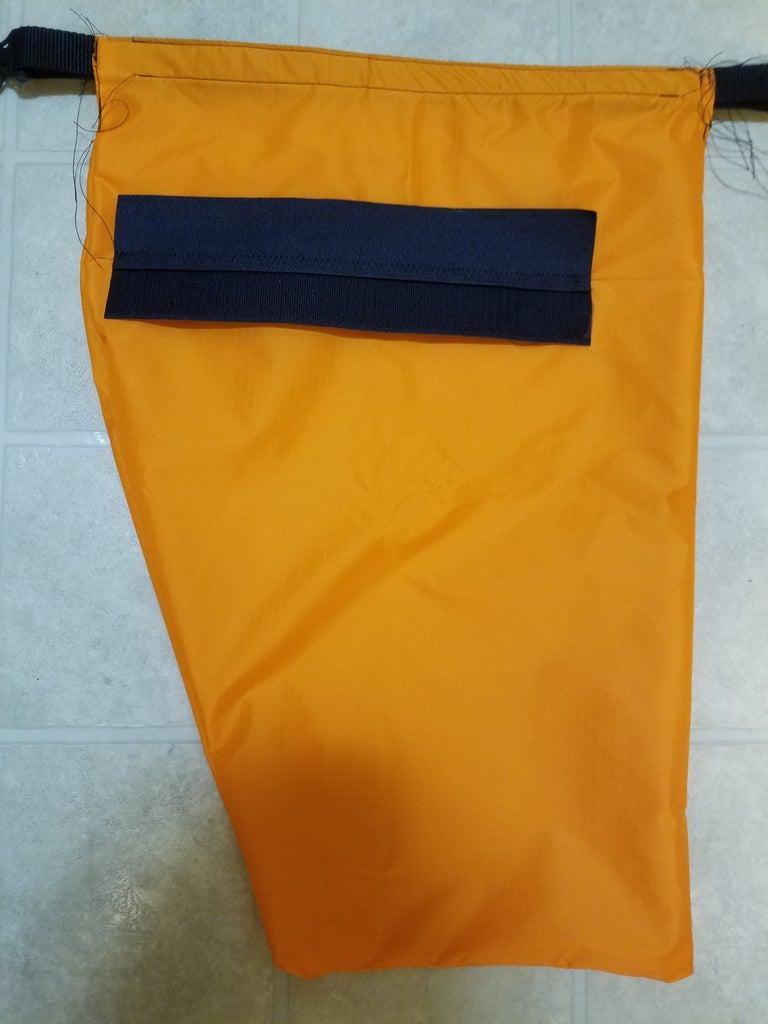Sew on the Velcro Hangers