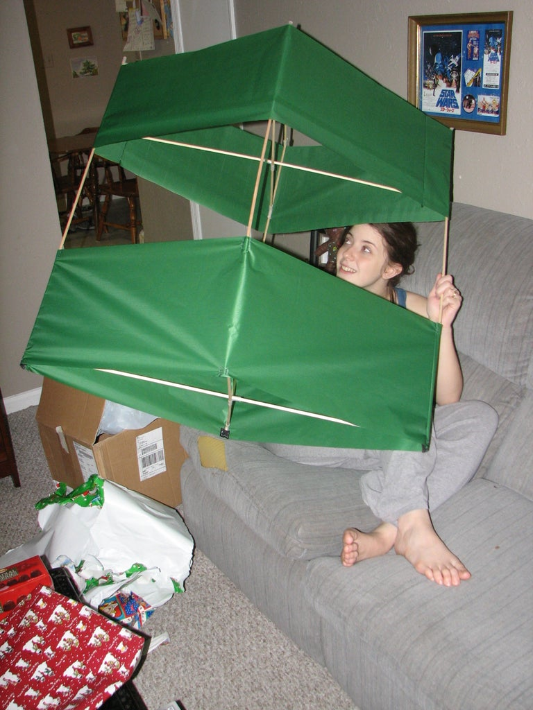 A Box Kite! (that's Almost Bigger Than My Wife!)