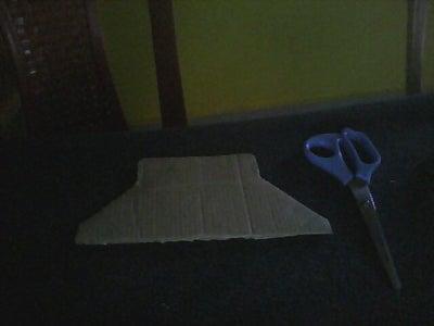 Cutting the Cardboard Sheet