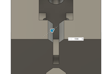Design Process - Moving Fixture - Chamfers