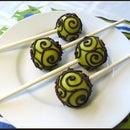 Swirly Cake Pop Design