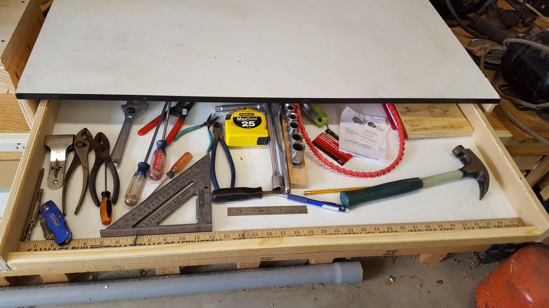 Table Top Storage Drawer