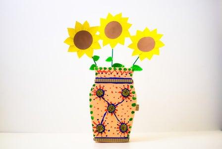 Paper Mache Vase