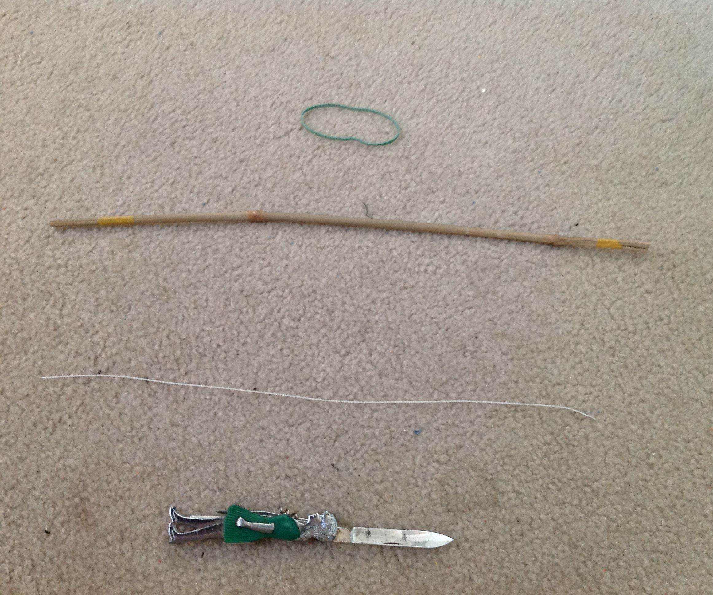 Easy Bamboo Bow