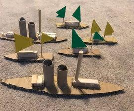Miniature Boats