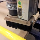 More stable dust collection boot for CNC routers