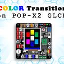 Color Transition on POP-X2 GLCD Using a Knob