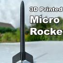 3D Printed Micro Rocket