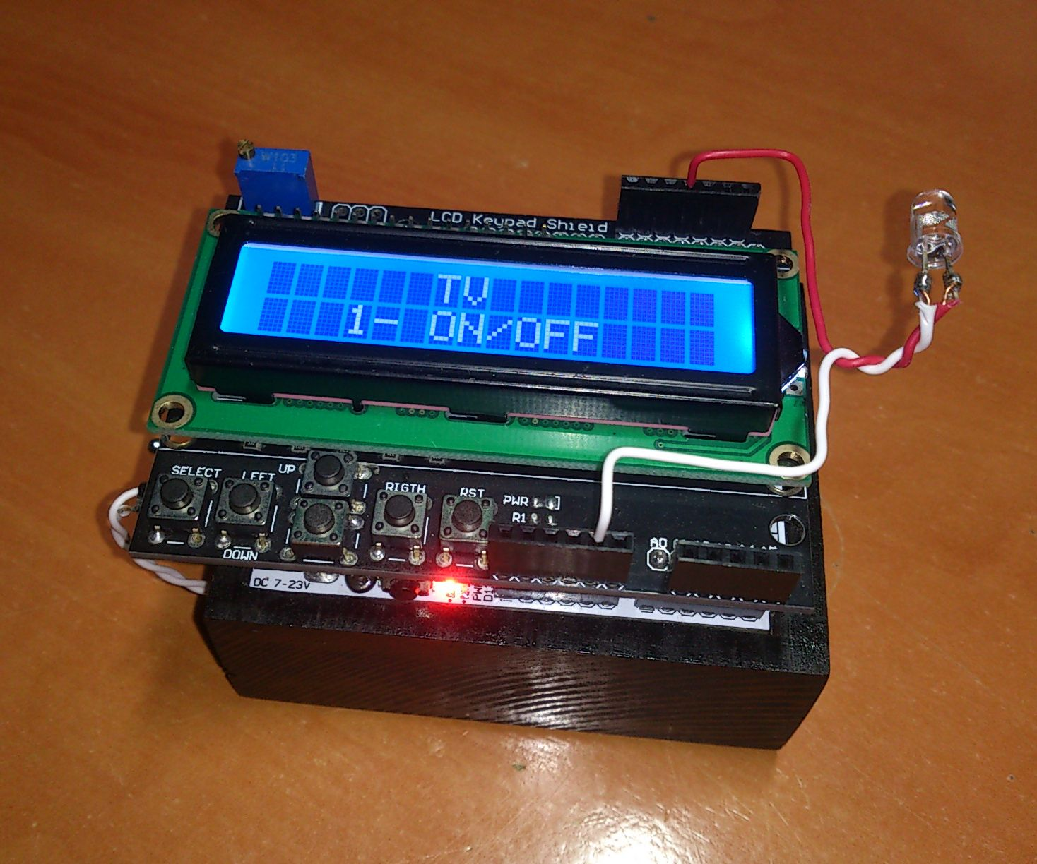 Arduino All-In-One Remote