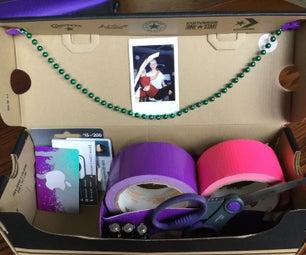 Shoe Box Desktop Organizer