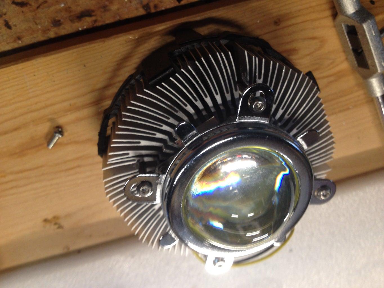 Mounting LED to Heatsink