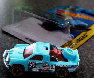 How to Remove a Hotwheels Car Withour Wrecking the Card
