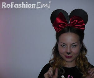 How to Make Minnie Ears (Halloween Special)