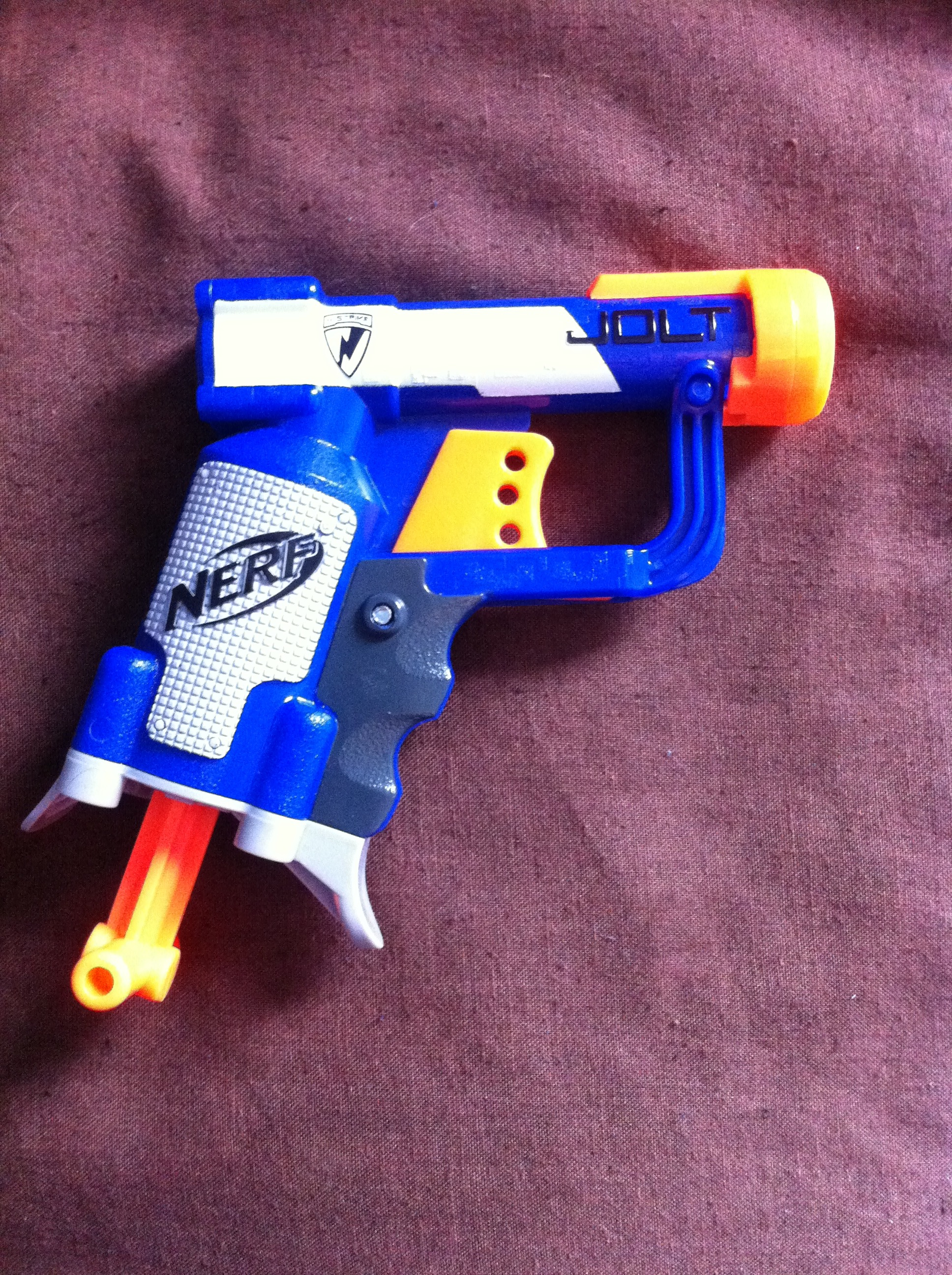 How To Remove The Air Restrictor In A Nerf Jolt