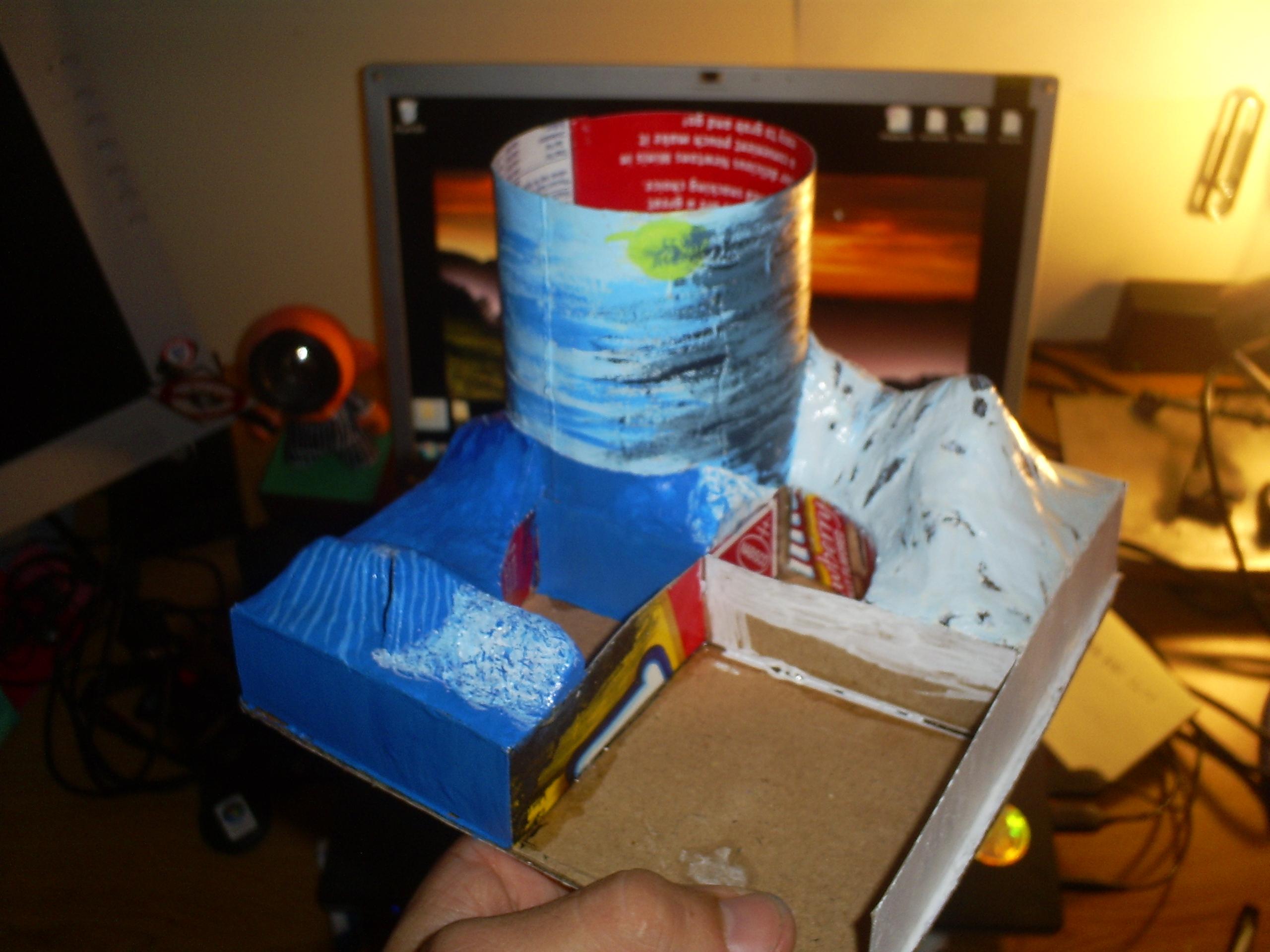 Building Desk Organizer