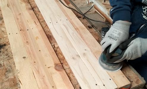 Gluing Planks to Make Panels