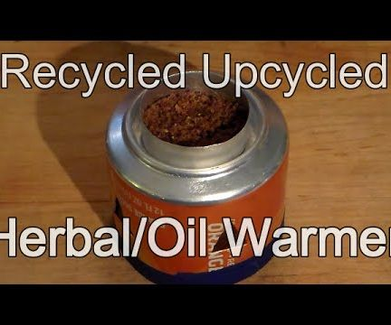 How to Make an Upcycled Recycled Herbal Incense Oil Warmer