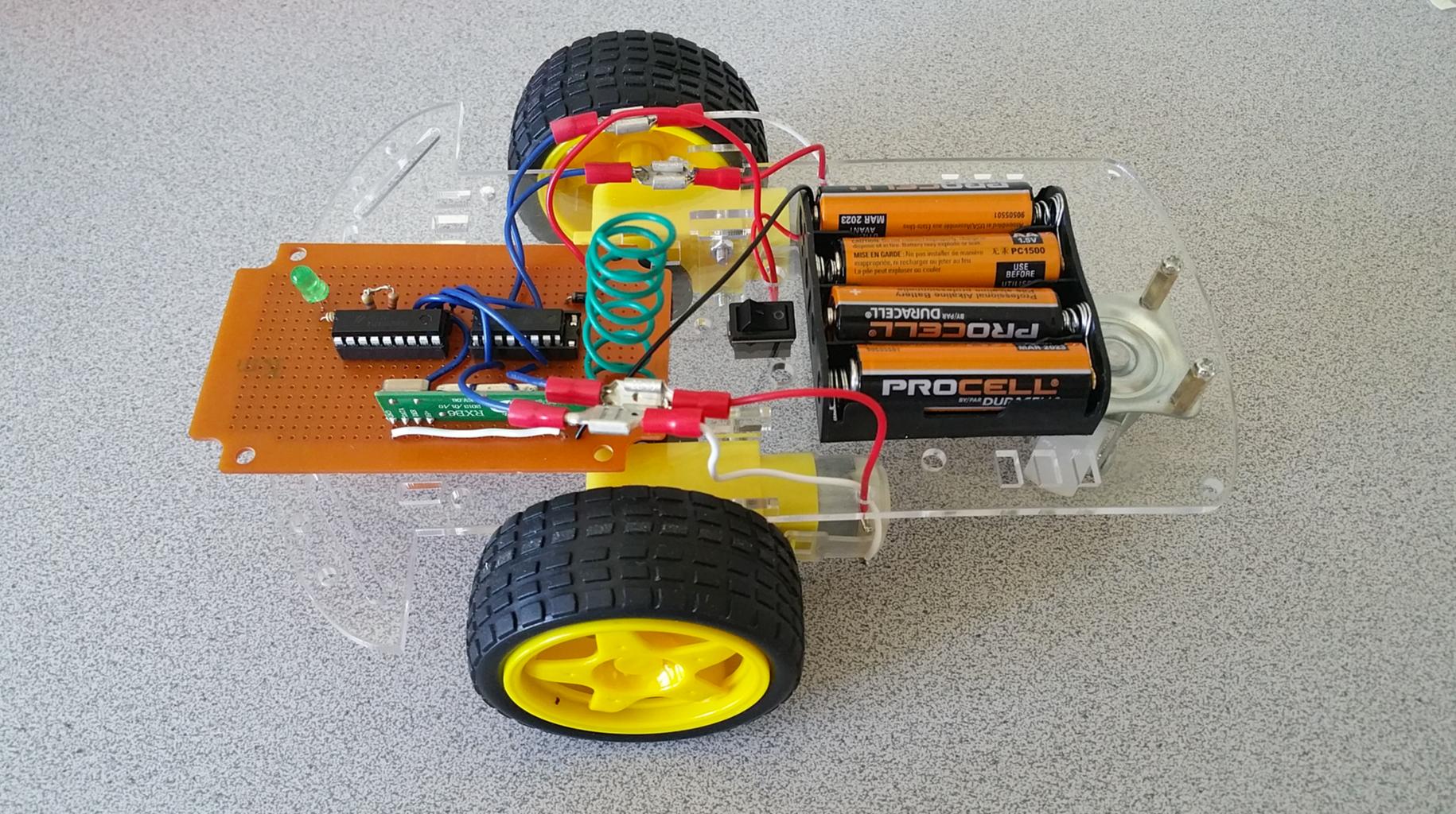 RF Remote Control Car
