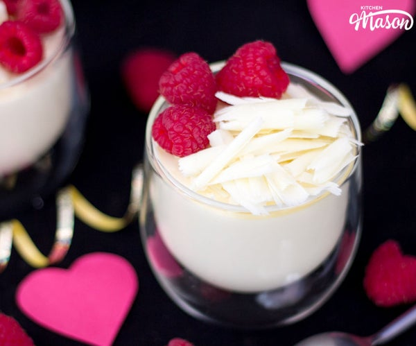How to Make Easy 2 Ingredient White Chocolate Mousse
